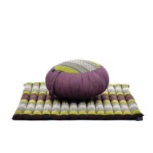 almohada y cojín meditación