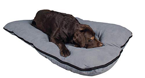 Cama para perros, XXL, 120x80 cm, gris, colchón de perro