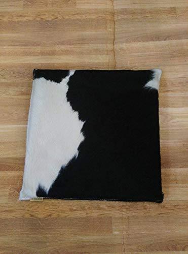 Cojin de Piel de Vaca Premium | Medidas: 35x35 cm