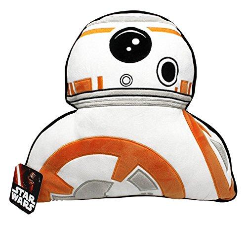 Cojín de peluche con la forma de BB-8 de Star Wars. Aproximadamente 35cm