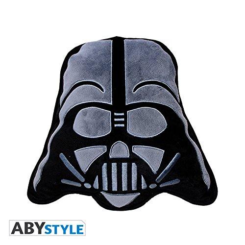 Cojín de peluche de 35cm de Star Wars con la forma de la cabeza de Darth Vader