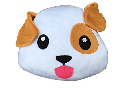 Cojín Emoticono Cachorro Sonriente