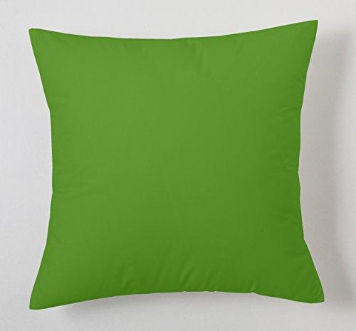 Cojín liso color Verde
