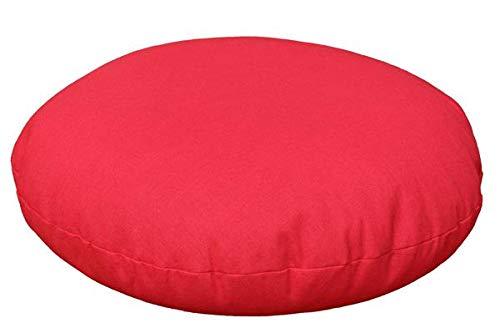 Cojín rojo yoga