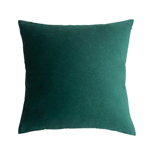 Funda cojín poliéster Color Verde