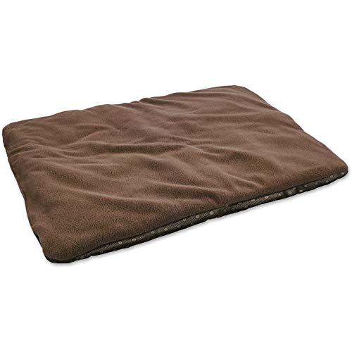 Manta térmica para Perro, marrón, Acolchada y Aislante, Lado Inferior Antideslizante e Impermeable, 70 cm x 100 cm