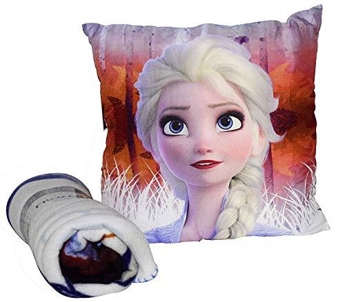 Set cojin Frozen + Manta